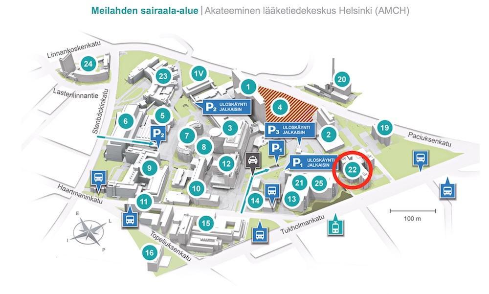 Meilahden Sairaala Alue Hyks Instituutti